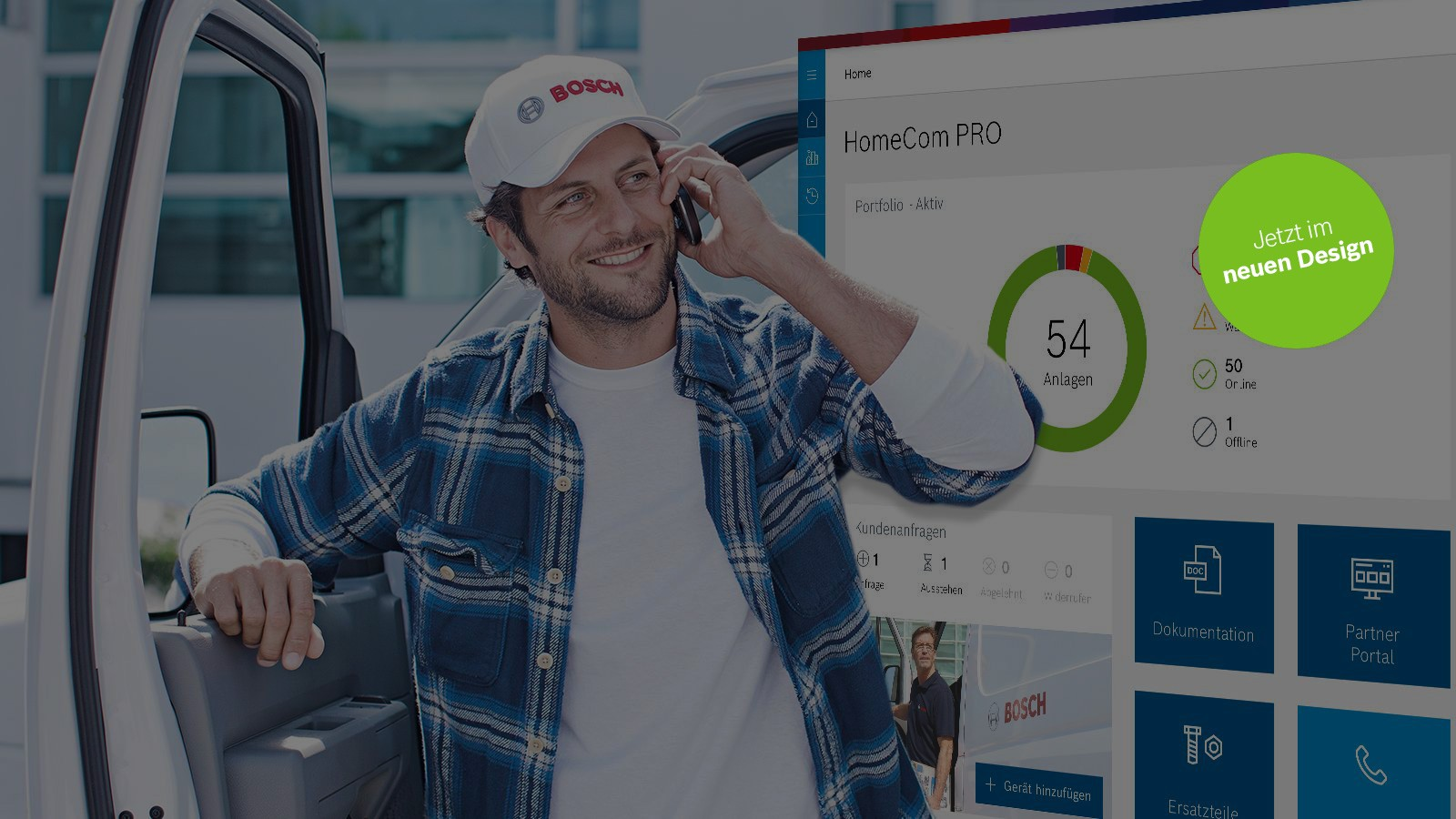 Bosch HomeCom Pro